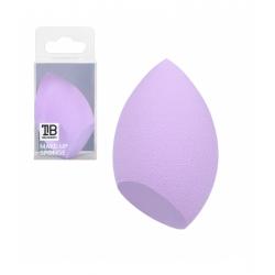 TOOLS FOR BEAUTY Olive-shaped blending sponge - violet