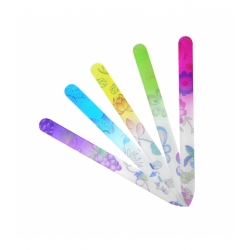 TOOLS FOR BEAUTY Glass nail file flower printed