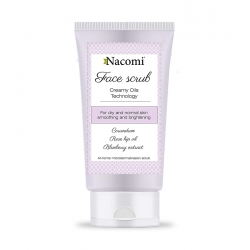 NACOMI Creamy oils technology smoothing and brightening face scrub 85ml
