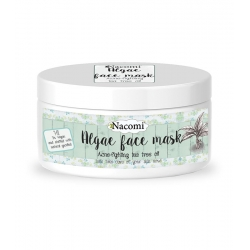NACOMI Acne fighting tea tree oil algae face mask 42g