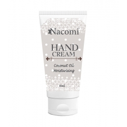 NACOMI Moisturizing hand cream with coconut oil 85ml