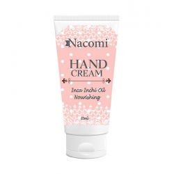 NACOMI Nourishing hand cream with Incha inchi oil 85ml