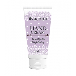 NACOMI Brightening hand cream with rosehip oil 85ml