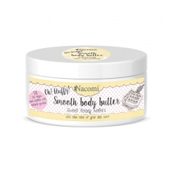 NACOMI Sweet honey wafers smooth body butter 100g