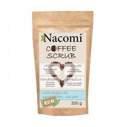 NACOMI Dry coffee body scrub – coffee 200g