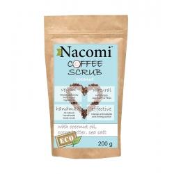 NACOMI Dry coffee body scrub – coconut 200g