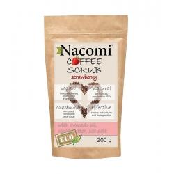 NACOMI Dry coffee body scrub – strawberry 200g