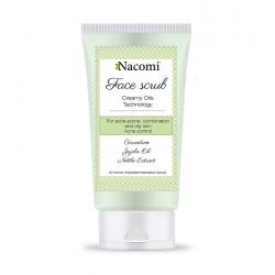 NACOMI Creamy oils technology acne control face scrub 85ml