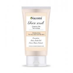 NACOMI Creamy oils technology moisturizing face scrub 85ml
