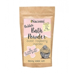 NACOMI Sweet raspberry cupcake bubble bath powder 100g