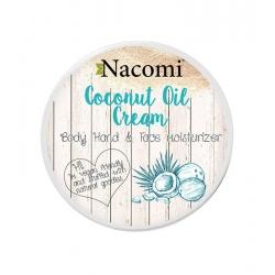 NACOMI Coconut Oil Cream Body, hand & face moisturizer 100ml