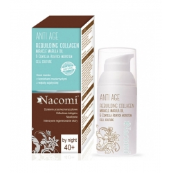 NACOMI Anti Age Rebuilding collagen night cream 40+ 50ml
