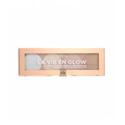 L'ORÉAL PARIS La Vie En Glow Highlighting powder palette – 02 Cool Glow 5g