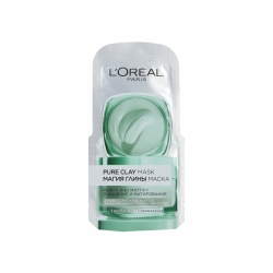 L'OREAL PARIS SKIN EXPERT Pure Clay Cleansing mask 6ml