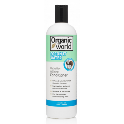 Natural World Coconut Water Hydration & Shine Conditioner 500 ml