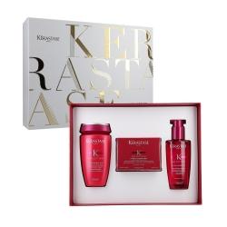 KERASTASE REFLECTION Chromatique Set Shampoo 250ml+Mask 200ml+Fluid 125ml