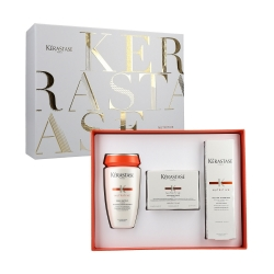 KERASTASE NUTRITIVE Set Bain Satin 2 250ml+Mask 200ml+Thermo Protector 150ml