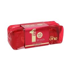 REVLON PROFESSIONAL UNIQ ONE ALL IN ONE Set Treatment150ml+Beauty Bag
