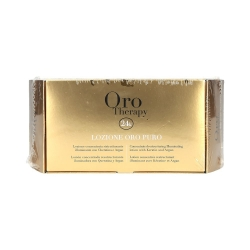 FANOLA ORO THERAPY 24k Oro Puro Lotion Hair ampoules with gold 12x10ml