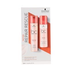 SCHWARZKOPF PROFESSIONAL BC PEPTIDE REPAIR RESCUE Shampoo 250ml + conditioner 200ml