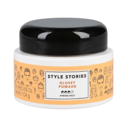ALFAPARF STYLE STORIES Glossy Pomade Wax hair styling pomade 100ml