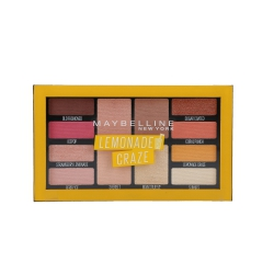 MAYBELLINE Palette of 12 Lemonade Craze Eye Shadows