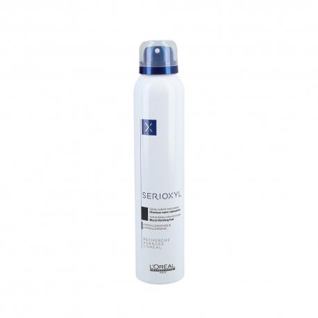 L'OREAL PROFESSIONNEL SERIOXYL Volumizing Coloured Spray - Black 200ml