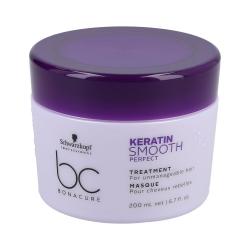 SCHWARZKOPF PROFESSIONAL BC KERATIN SMOOTH PERFECT Hair Mask 200ml