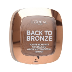 L'OREAL PARIS Back To Bronze Matt face bronzer 02 Sunkissed 9g