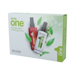 REVLON PROFESSIONAL UNIQ ONE ALL IN ONE Treatment Kit Classic 150ml+Green Tea 150ml