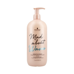 SCHWARZKOPF PROFESSIONAL MAD ABOUT WAVES Sulfate Free Cleanser Shampoo 1000ml
