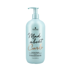 SCHWARZKOPF PROFESSIONAL MAD ABOUT CURLS Low Foam Cleanser 1000ml