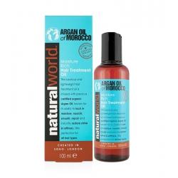 Natural World Argan Oil of Morocco Moisture Rich Hair Treatment Oil 100 ml