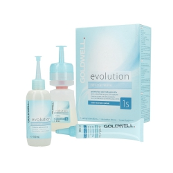 GOLDWELL EVOLUTION Neutral wave set 1sPerm-Set 1S  liquid 80ml + fixer 100ml