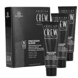 American Crew - Precision Blend Dark (2-3) coverage | 3 x 40 ml.