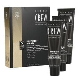 American Crew - Precision Blend Light (7-8) coverage | 3 x 40 ml.