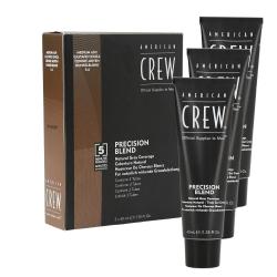 American Crew - Precision Blend Medium Ash (5-6) coverage | 3 x 40 ml.