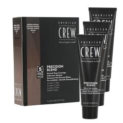 American Crew - Precision Blend Medium Natural (4-5) coverage | 3 x 40 ml.
