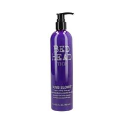 TIGI BED HEAD DUMB BLONDE Blonde shampoo 400ml