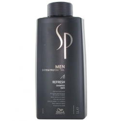 Wella SP Men Refresh Shampoo for hair and body 1000 ml