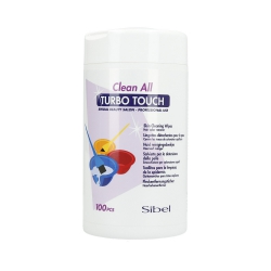 SIBEL Clean All Turbo Touch wipes for hair colour stains 100p.