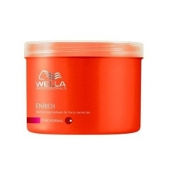 Wella Professionals Enrich Fine Moisturizing Treatment for fine and normal hair 500 ml